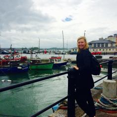 Fell in love with the vibes at Cobh Port!